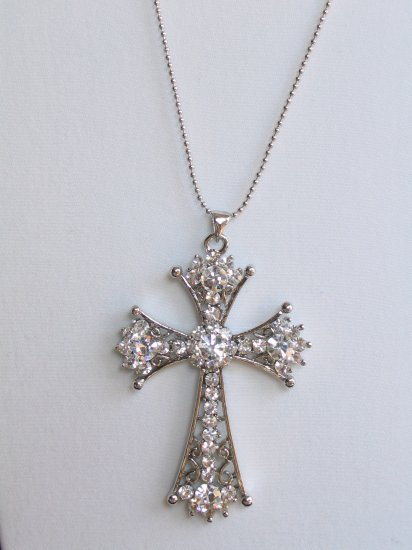 CS01 Gorgeous Crystal Cross wholesale price $7.99