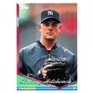 1994 Topps #103 Sterling Hitchcock