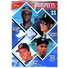 1994 Topps #158 Derek Jeter, Orlando Miller, Brandon Wilson, Mike Neal