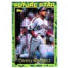 1994 Topps #216 Manny Ramirez