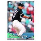 1994 Topps #299 Wilson Alvarez