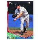 1994 Topps #350 Jim Abbott