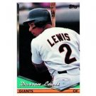 1994 Topps #354 Darren Lewis