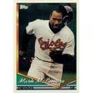 1994 Topps #370 Mark McLemore error 379