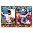 1994 Topps #385 Robby Thompson, Roberto Alomar AS