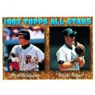 1994 Topps #386 Matt Williams, Wade Boggs AS