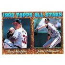 1994 Topps #392 Greg Maddux, Jack McDowell AS