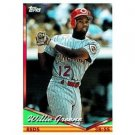 1994 Topps #428 Willie Greene