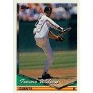 1994 Topps #462 Trevor Wilson