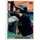 1994 Topps #496 Chris Jones