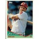 1994 Topps #504 Jim Eisenreich
