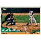 1994 Topps #550 Matt Williams