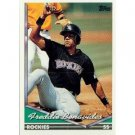1994 Topps #553 Freddie Benavides