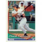 1994 Topps #555 Chuck Knoblauch