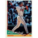 1994 Topps #565 Fred McGriff