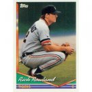 1994 Topps #588 Rich Rowland