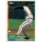 1994 Topps #598 Mike Mussina