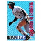 1994 Topps #601 Frank Thomas Measures of Greatness