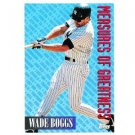 1994 Topps #603 Wade Boggs Measures of Greatness