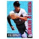 1994 Topps #604 Cal Ripken Jr. Measures of Greatness