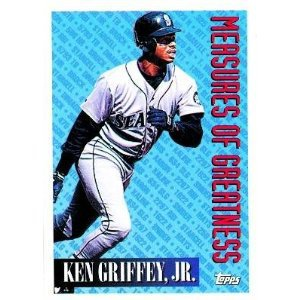 1994 Topps #606 Ken Griffey Jr. Measures of Greatness