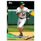 1994 Topps #610 Terry Steinbach