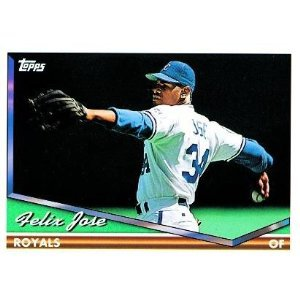 1994 Topps #672 Felix Jose