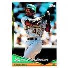 1994 Topps #708 Dave Henderson