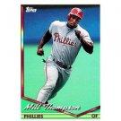 1994 Topps #722 Milt Thompson