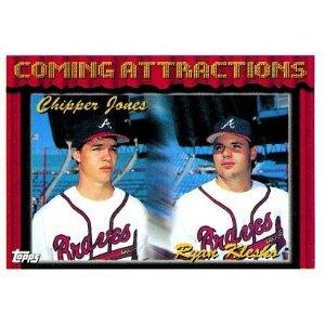 1994 Topps #777 Chipper Jones, Ryan Klesko