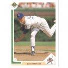 1991 Upper Deck #9 Lance Dickson