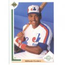 1991 Upper Deck #60 Wilfredo Cordero