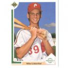 1991 Upper Deck #67 Mike Lieberthal