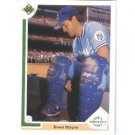 1991 Upper Deck #72 Brent Mayne