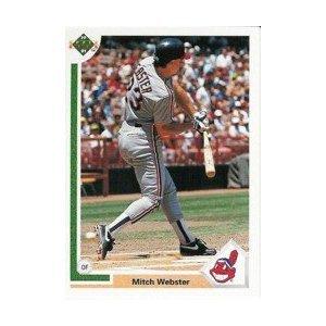 1991 Upper Deck #120 Mitch Webster