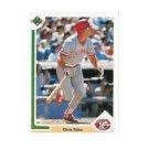 1991 Upper Deck #135 Chris Sabo