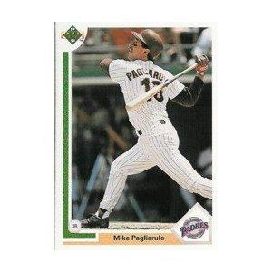 1991 Upper Deck #206 Mike Pagliarulo