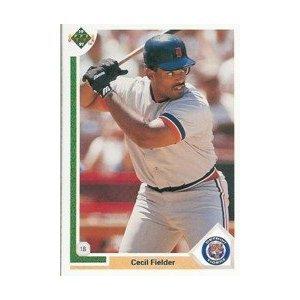 1991 Upper Deck #244 Cecil Fielder