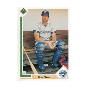 1991 Upper Deck #259 Greg Myers