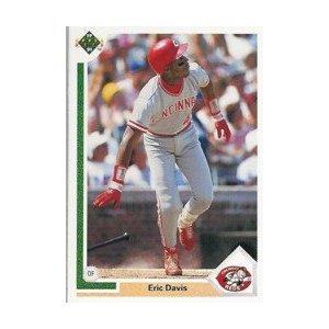 1991 Upper Deck #355 Eric Davis