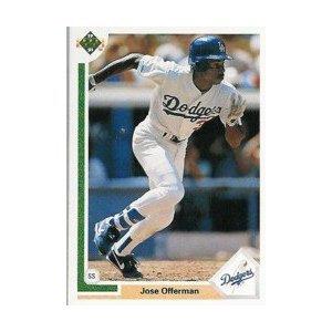 1991 Upper Deck #356 Jose Offerman
