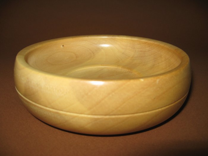 Ginko Wood Bowl