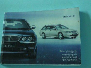 Rover 75 Handbook