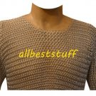Butted Chain Mail Aluminium Shirt with Silver Anodizing Medium
