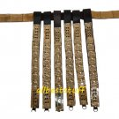 Medieval Roman Leather Belt with Brass
