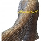 Butted Chain Mail Shirt Medium Hauberk Chainmail Oil Finish
