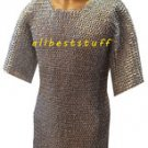 MS Chain Mail Chainmail Shirt Flat Rivet with Flat Washer - Zinc Plated Medium