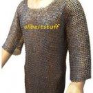 Chain Mail Shirt Mild Steel Hauberk Flat Rivet Flat Washer ChainMail Large