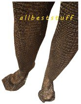 MS Chain mail Flat Rivet Flat Washer Legging Medieval Chainmail Riveted