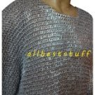 Aluminium Full Flat Riveted Chain Mail Shirt SM 16g 9mm